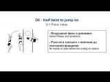 D6 - HALF TWIST TO JUMP ON - (0.1) - CODE OF POINTS (POSA-Pole Sports & World Arts Federation)
