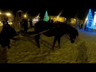 """Массовое гуляние """"В ночь под Рождество"""""""