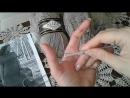 Платье спицами. Часть 1. Итальянский набор петель. Полая резинка