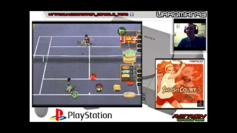 Smash court 3 ps1 by URROMAN