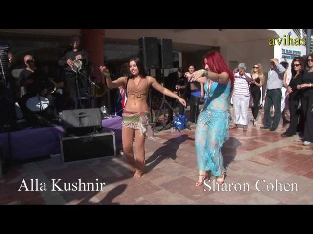 Alla Kushnir Sharon Cohen Belly dancing duet