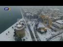 ΕΡΤ3 - Πλάνα με drone απο τη χιονισμένη θεσσαλονίκη 10-01-2017