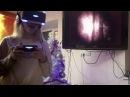 Девушки играют в Resident Evil 7 в VR ЖЕСТЬ реакции эксперимент в виртуальной реальности
