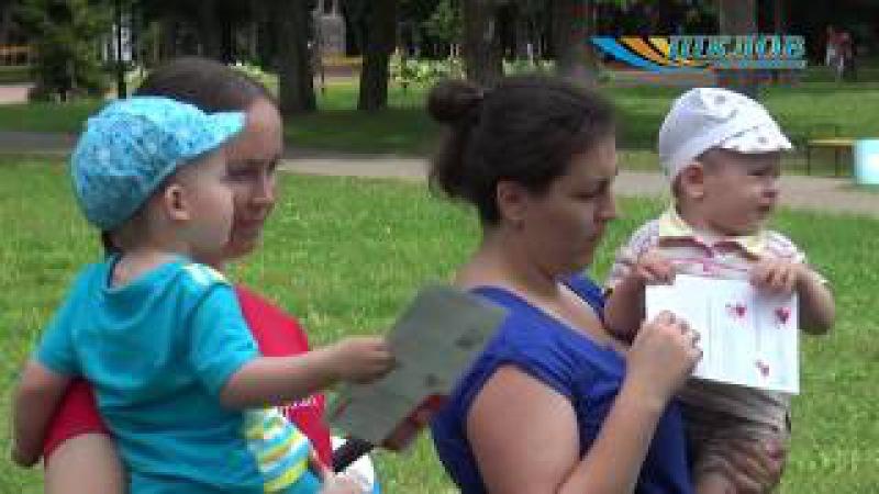 Гульнявая пляцоўка ў гарадскім парку папоўнілася пясочніцай