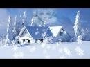 Футаж В царстве сказочной зимы HD