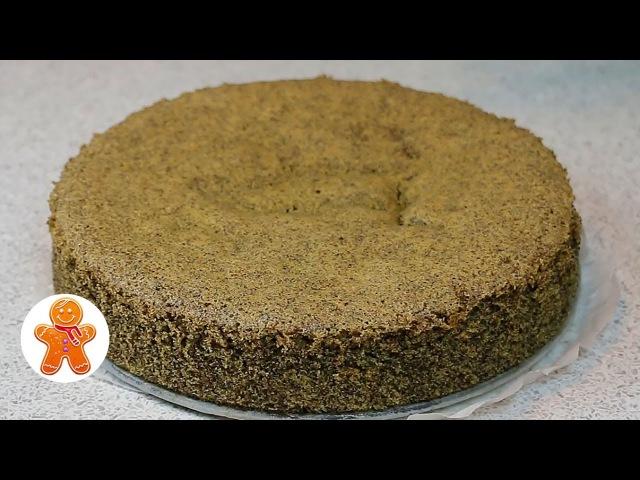 Маковый Бисквит ✧ Школа Домашнего Кондитера ✧ Poppy Seed Sponge Cake (English Subtitles)