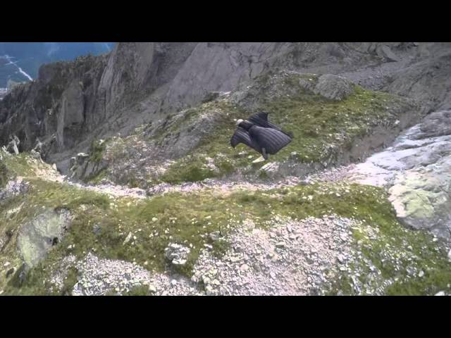 Crazy Wingsuit Flight - The Great Dario - Graham Dickinson Dario Zanon
