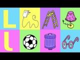 LMN Das deutsche Alphabet: Teil 2 – German pronunciation for children/beginners - letters L-W