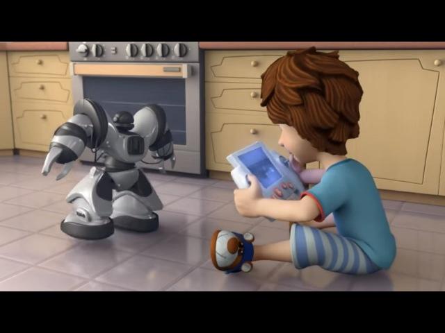 Zeichentrickfilme für Kinder - Die Fixies - Der Roboter