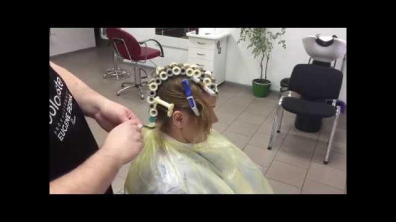 Мастеркласс Делаем химическую завивку тонких волос