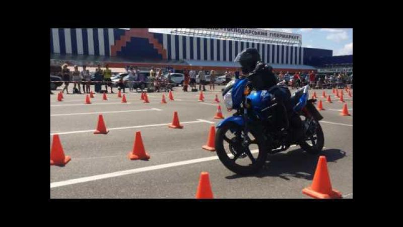 Motorodeo 2016- Cherkasy Миша 2nd Heat / Geon Pantera 150 Odessa