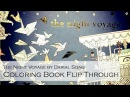 Coloring Book Flip Through The Night Voyage by Daria Song The Third Book in Time Garden Series