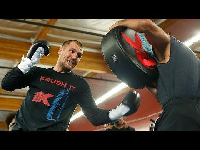 Открытая тренировка Сергея Ковалева перед реваншем с Уордом 17 июня | FightSpace jnrhsnfz nhtybhjdrf cthutz rjdfktdf gthtl htdfy