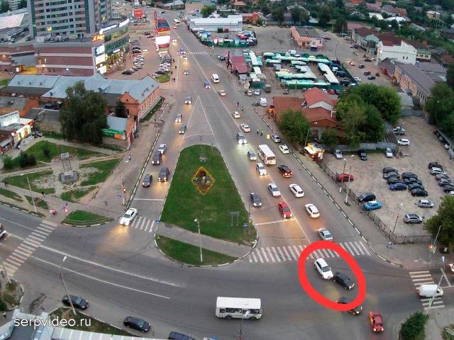 ДТП в Серпухове. Одинаковые аварии в один день, на одном и том же месте ... 13 августа 2016г.