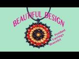 ULTRA Beautiful DESIGN for Earrings, Pendants and Bracelets !!! Enjoy creating the beauty !!!