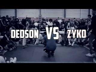 1/8 DE FINAL MELTING'G BATTLE 2016 DEDSON VS ZYKO - 4TH EDITION