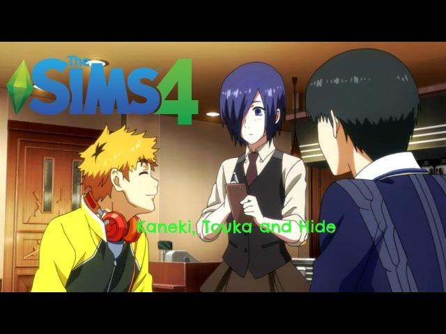 The Sims 4- Kaneki, Touka Hide