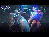Injustice 2 Битвы - Персонажи - Костюмы - Приёмы Синий Жук против Киборга #2