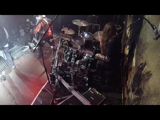 DIABOLICAL@Decline-live in Poland 2016 (Drum Cam)