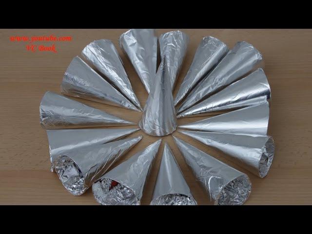 Как сделать конусы для пирожных Трубочки Конусы для трубочек