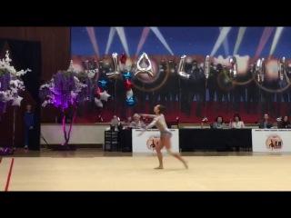 Ekaterina Halkina Ball (BLR) LA Lights 2017