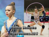 Polina Shmatko new routines 2017 hoop, ball, clubs, ribbon Полина Шматко новая программа