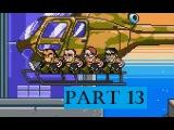 River City Ransom Underground Walkthrough Gameplay RCRU Part 13 | Merv Tower climb!