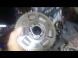 корзина сцепления Honda CBR954rr...  теперь только как бубен)))