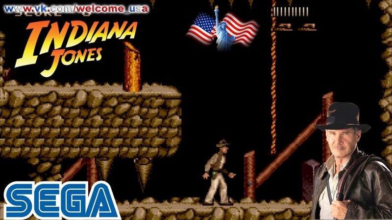 Игра Индиана Джонс и последний крестовый поход СЕГА Indiana Jones and the Last Crusade SEGA