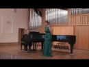 Анастасия Хлебникова. Свиридов. Вербочки (1) Доницетти. Куплеты Марии из оперы Дочь полка (2)