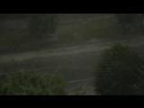 Рекордно сильный шторм с градом в Каменце-Подольском 26.06.2017