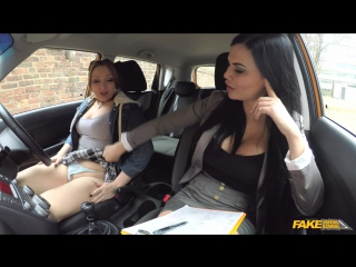 Crystal coxxx & jasmine jae (spoiled teen has her driver's test [2017, lesbians, 1080p]