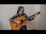 Малагенья - исполняет Валерия Щеткова