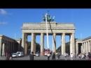 Schwenk übers Brandenburger Tor