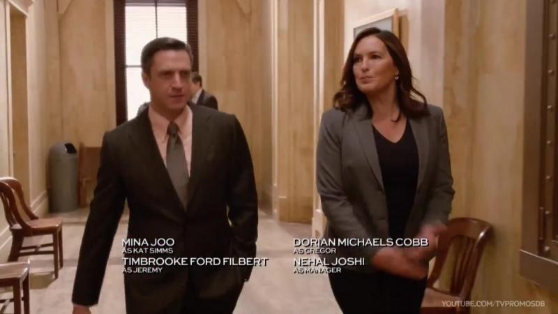 Закон и порядок Специальный корпус Law and Order SVU 18 сезон 9 серия Промо Decline and Fall HD