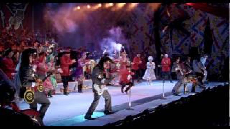 Leningrad Cowboys The Red Army Choir - Gimme all your lovin'