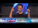 Demian Aditya Escape Artist Risks His Life During AGT Audition America's Got Talent 2017