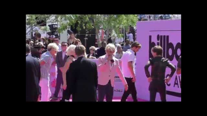 R5 arriving to the Billboard Awards at T Mobile Arena in Las Vegas