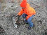 Savannah's first deer hunt.