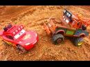 Тачки Маквин и Мэтр на бездорожье Монстер Трак Мультик про машинки для детей Cars McQueen