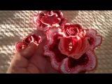 Розы связанные по МК Аси Вертен Эдем