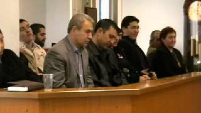 С Пашин ведет суд присяжных в Махачкале