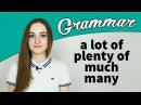 A lot of - Plenty of - Much / Many - Грамматика английского языка - English Spot