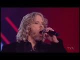 Stephan McNicoll - Burning Love (Blind Audition) La Voix Quebec 2013