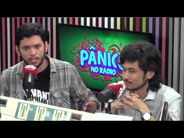 Carioca se irrita com líder do Levante Popular da Juventude: seja homem   Pânico