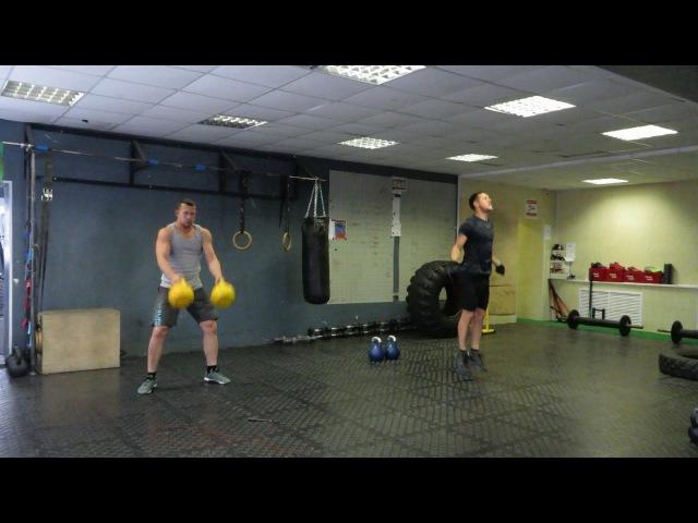 Гиря Ка4. Kettlebell CrossFit Wod Open 14.1 (Variant)