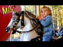 Лимонадный Дождик ♫ Детские Песни 🎠 Большая Карусель Лошадки 😊 Аттракцион для Детей