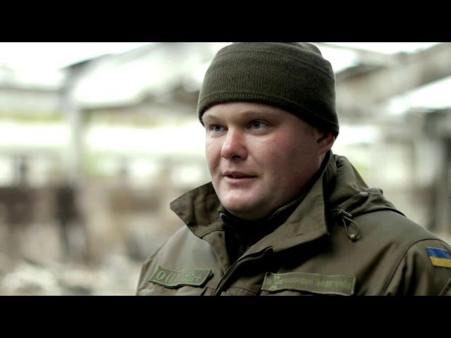 Гвардійці допомогають погорільцям в АТО