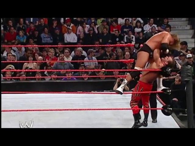 Chris Benoit vs Triple H vs Shawn Michaels - Backlash 2004 - Video Dailymotion