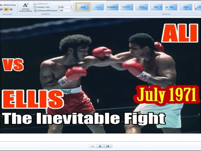 Muhammad Ali vs Jimmy Ellis 33rd of 61 - July 1971